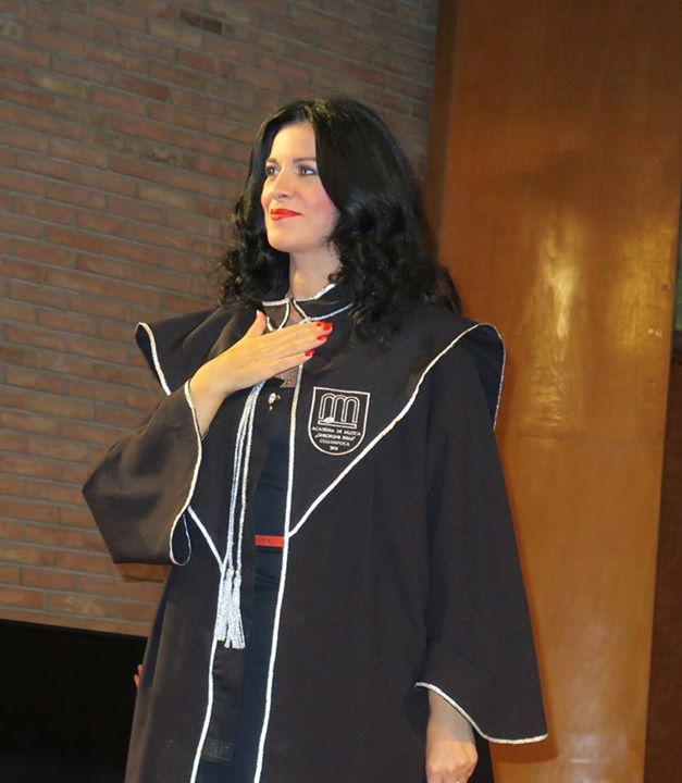 Angela Gheorghiu, doctor Honoris Causa