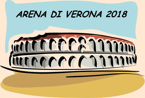 Arena din Verona, program luna august