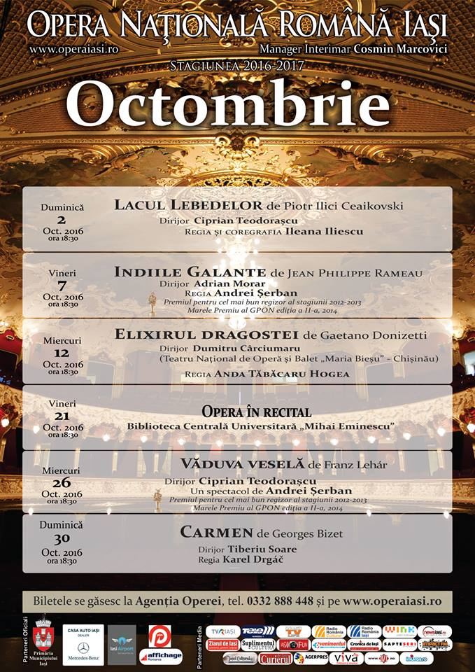 Program octombrie 2016