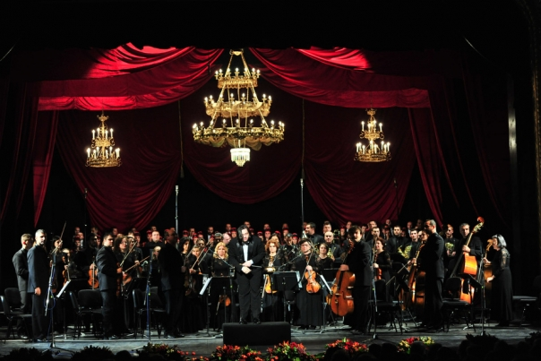 Gest emotionant al artistilor de la Opera Nationala Romana Iasi