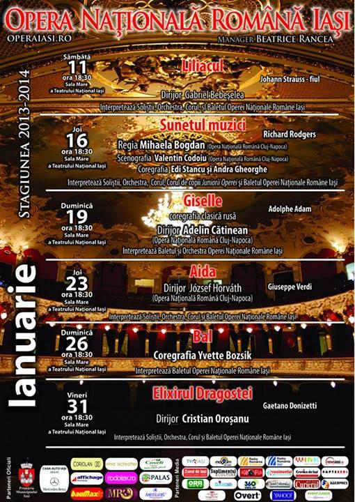 Program ianuarie 2014