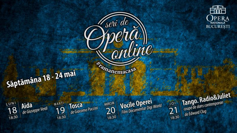 Program Seri de Operă Online
